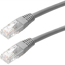 4XEM 100FT Cat5e Molded RJ45 UTP