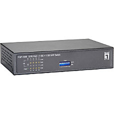 LevelOne FGP 1000 8 Port PoE