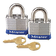 Master Lock Maximum Security Padlocks Pack