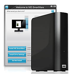 Western Digital® My Book® Essential™ USB 3.0 External Hard Drive, 3TB