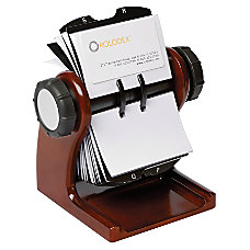 Rolodex Rotary Card File 200 Card