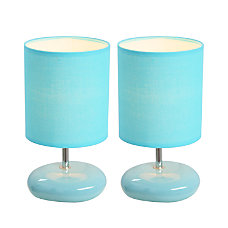 Simple Designs Stonies Bedside Table Lamps