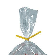 Partners Brand Yellow Paper Twist Ties