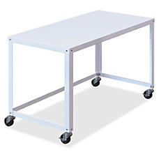 Lorell Steel Frame Mobile Workstation 29