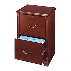 Office Depot Brand Laminate File Cabinet 2 Drawer 30 H X 21 34 W X 16 12 D Cherry By Office