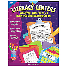 Creative Teaching Press Literacy Centers
