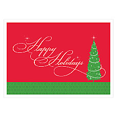 Personalized Economy Holiday Cards Christmas Magic