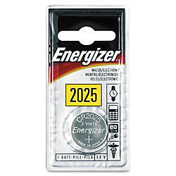 Energizer 2025 WatchCalc 3 Volt Battery