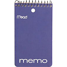 Mead Coil Memo Notebook 60 Sheets