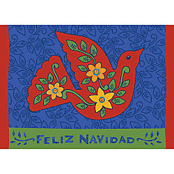 Personalized Holiday Cards Peace Flourishes 7