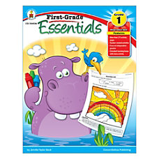 Carson Dellosa First Grade Essentials Book