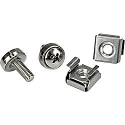 StarTechcom M5 Mounting Screws Cage Nuts