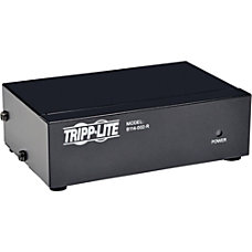 Tripp Lite 2 Port VGA Video