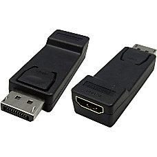 4XEM DisplayPort To HDMI Adapter