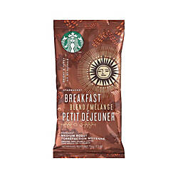 Starbucks Breakfast Blend Ground Coffee Box