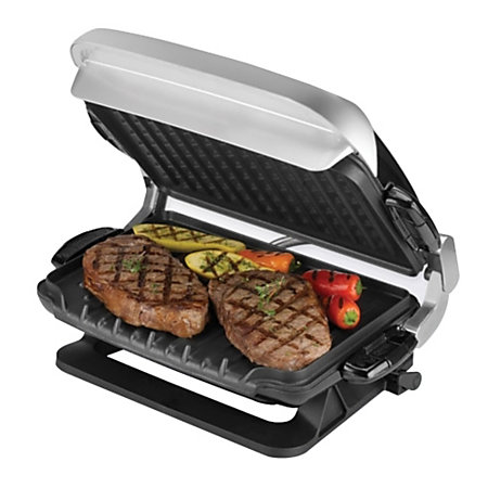 George foreman evolve grp4emb electric grill by office depot officemax - George foreman evolve grill ...