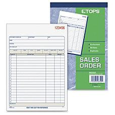 Tops 46320 Sales Order Book 50