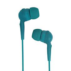 JLab AWESOME Earbud Headphones Teal