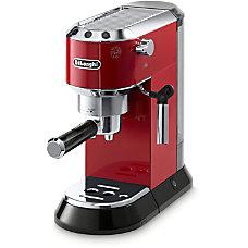 DeLonghi Dedica Pump Espresso Machine Red