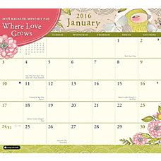 Orange Circle Studio Monthly Magnetic Calendar