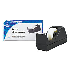 Office Depot Brand Desktop Dispenser Black