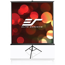 Elite Screens T119UWS1 Portable Tripod Projector