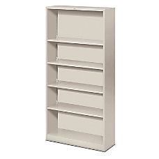 HON Brigade Steel Bookcase 5 Shelves