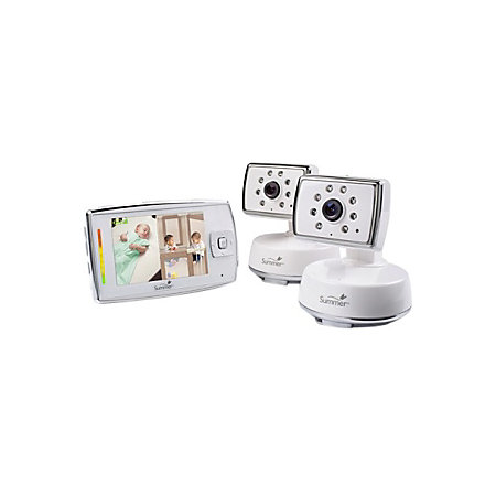 summer infant dual view digital color video baby monitor set by office depot officemax. Black Bedroom Furniture Sets. Home Design Ideas