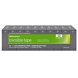 Office Depot Brand Invisible Tape 34
