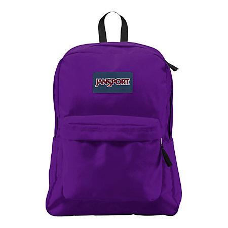 JanSport SuperBreak Backpack Assorted Colors by Office Depot ...