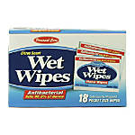 PowerHouse Antibacterial Wipes Box Of 18