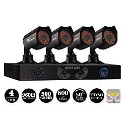 Night Owl 4 Channel DVR HDMI Security System