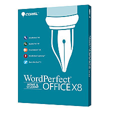 Corel WordPerfect Office X8 Home Student