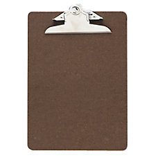 OIC 100percent Recycled Hardboard Clipboard Memo