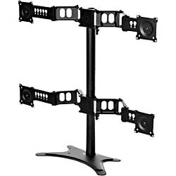 DoubleSight Displays Quad Monitor Flex Stand