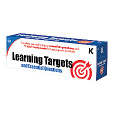 Carson Dellosa Learning Targets And Essential