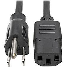 Tripp Lite 1ft Computer Power Cord