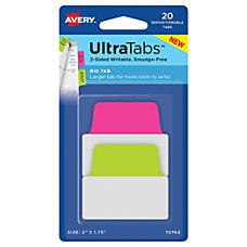 Avery Ultra Tabs Repositionable Tabs Big