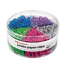 Office Depot Brand Jumbo Paper Clip
