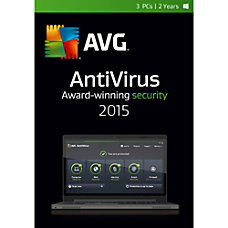 AntiVirus 2015 3 User 2 Year
