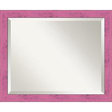 Amanti Art Petticoat Rustic Wall Mirror