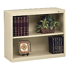 Tennsco Metal 2 Shelf Bookcase 28