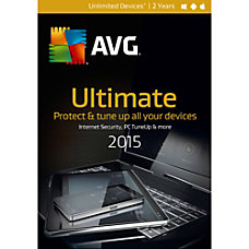AVG Ultimate 2015 Unlimited 2 Year