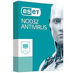 ESET NOD32 Antivirus Software For 1