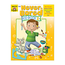 Evan Moor Never Bored Kid Book