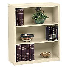 Tennsco Metal 3 Shelf Bookcase 40