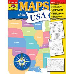 Evan Moor Maps Of The USA