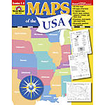 Evan Moor Maps Of The USA
