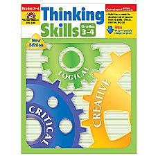 Evan Moor Thinking Skills Grades 3