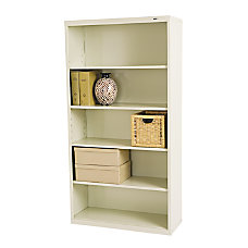 Tennsco Metal 5 Shelf Bookcase 66